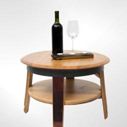odkladaci stolek s polickou